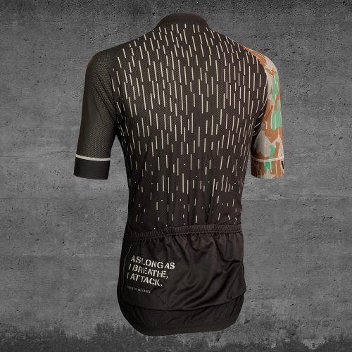 sleet siege cycling jersey