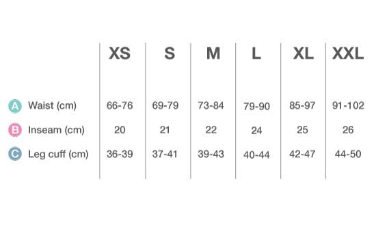 velofreak size Chart bib